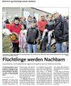 21.102016 HAZ - Flüchtlinge werden Nachbarn
