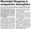 02.11.2016 MS - Moonlight Shopping entspannter Atmosphäre