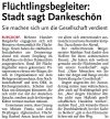 03.12.2016 HAZ - Flüchtlingsbegleiter: Stadt sagt Dankeschön